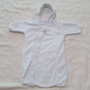 Ralph Lauren baby bunting w/ Polo Bear 0-6 months